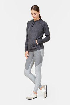 OV — Two-Tone Warmup Legging