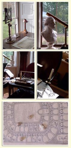 desk at monticello