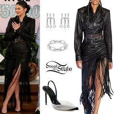 Kris Jenner Style, Look Kylie Jenner, Estilo Kylie Jenner, Kylie Jenner Instagram, Kylie Jenner Outfits, Cute Swag Outfits, Classy Outfits, Pink Latex Dress, Fringe Dress