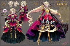 OC: Corona-The Witch Knight Reference by Ruriko-sama.deviantart.com on @deviantART