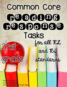 Common Core Connected Reading Tasks for 2nd Grade... It's HERE!  {And a GIVEAWAY!}