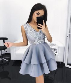 homecoming dresses,grey short party dresses, ruched homecoming party dresses, short grey homecoming party dresses 2017