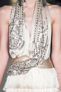 Marchesa at New York Fashion Week Fall 2015 - Details Runway Photos