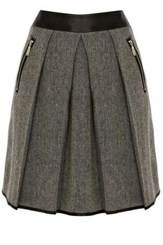 Warehouse Contrast waistband tweed skirt Black - House of Fraser Dress Skirt, Dress Up, Pleated Skirt, Tweed Skirt, Cute Skirts, African Fashion, Autumn Fashion, Fashion Outfits, Couture