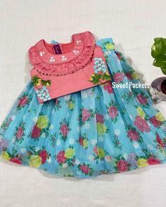 Baby Girl Dresses Diy, Girls Dresses Sewing, Baby Dress, Baby Lehenga, Kids Lehenga, Kids Frocks Design, Baby Frocks Designs, Kids Dress Wear, Kids Wear