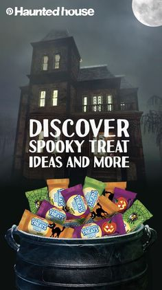 Enter if you dare! Rice Krispies Treats get a monster of a makeover in the Pinterest Haunted House. Discover spooky recipes and other haunting ideas that will bewitch party guests of all ages.