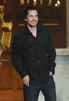 Pin for Later: Revivez les meilleurs moments des Best Guys Choice Awards !  Christian Bale en 2012.