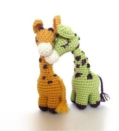 Sweet Giraffe Amigurumi Pattern