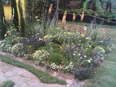 Hampton Court Mediterranean Garden