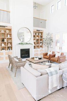 Best Interior Home Design Trends For 2020 - Interior Design Ideas 3 Living Rooms, Living Room Decor, Autumn Home, Living Room Inspiration, Home Decor Trends, Best Interior, Decoration, House Tours, Design Trends