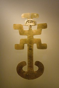 When Leah was in she visited the Museo del Oro (Museum of Gold). In Colombia, this symbol represents the which is associated with the regenerating powers of and the Colombian Art, Nazca Lines, Esoteric Art, Shades Of Gold, Ancient Artifacts, Gods And Goddesses, Ancient Civilizations, Stone Painting, Ancient History