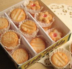 Dollhouse sweets by goddess of chocolate, via Flickr