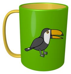 Toucan Mug / #Tableware #Animal #Bird