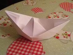 How to Make a Paper Boat: Jesus Walks on Water, The Big Catch/Jesus' Resurrection, Jonah Overboard Water Crafts Kids, Boat Crafts, Preschool Crafts, Vbs Crafts, Make A Paper Boat, Make A Boat, Build Your Own Boat, Paper Boats, Peter Walks On Water