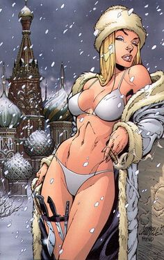 Natalya - (Danger Girl by Andy Hartnell and J Scott Campbell)