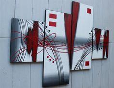 Lukisan Abstrak Dekoratif