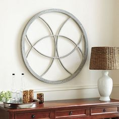 Embroidery Hoop Wall Décor Knock off Replicated from Ballard. Yes Can Do!