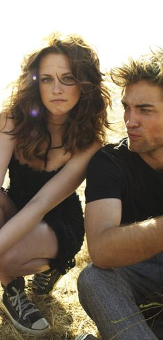 Robert Pattinson ❤ Kristen Stewart ❤ Vanity fair 2008 Kristen Stewart & Robert Pattinson photo shoot, Twilight Zone Photo 2