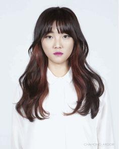 Feminine Perm #long #hair #beauty #cut #chahongardor
