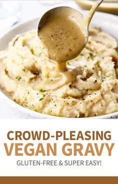 The Best Vegan Gravy!