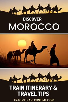 How to travel Morocco by train (  itinerary
