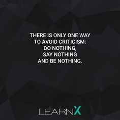 But don't be that guy!  follow @learnxapp for more motivation  . . . . . . . . #education #learnx #app #startup #knowledge #learning #criticism #nothing #entrepreneur #entrepreneurship #unternehmer #unternehmertum #positivity #motivation #motivational #inspirational #inspiration #foundr #instagood #quote #quotes #60secclub #awesome #deep #thoughtful #power