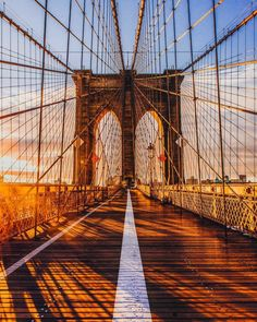 Brooklyn Bridge by Mike Gutkin - The Best Photos and Videos of New York City including the Statue of Liberty, Brooklyn Bridge, Central Park, Empire State Building, Chrysler Building and other popular New York places and attractions.