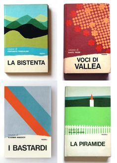 Book covers by Mario Dagrada.
