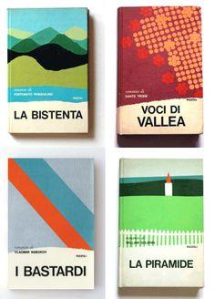 Book covers designed by Mario Dagrada.