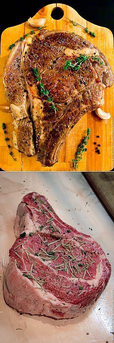 Рецепт самого вкусного стейка из говядины в вашей жизни.   Кулинарные заметки Алексея Онегина