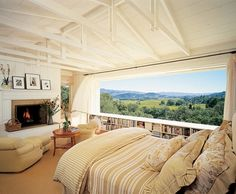 Cozy room with beautiful view