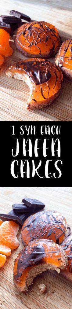 1 Syn Each Jaffa Cakes Slimming World pinch of nom Slimming World Deserts, Slimming World Puddings, Slimming World Tips, Slimming World Recipes Syn Free, Slimming Eats, Jaffa Kuchen, Chefs, Sliming World, Syn Free Food