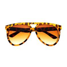 Stylish Retro Vintage Designer Fashion Large Aviator Sunglasses A1070