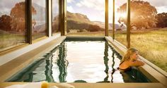 Guests can dip into their private pool at Wolgan Valley Resort in Australia Hotels And Resorts, Best Hotels, Amazing Hotels, Sydney City, Luxury Tents, Plunge Pool, Blue Mountain, Hotel Spa, Great View