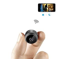 Mini Spy Camera WiFi Hidden Camera AOBO Wireless HD Indoor Home Small Spy Cam Security Cameras/Nanny Cam Built-in Battery with Motion Detection/Night Vision For iPhone/Android Phone/iPad/PC Camera Surveillance Wifi, Wireless Spy Camera, Wireless Security Cameras, Wireless Earbuds, Computer Camera, Pen Camera, Mini Spy Camera, Hidden Spy Camera, Small Camera