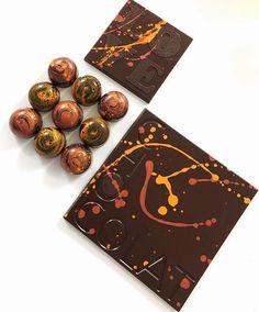 Seasons colors, seasons flavors.  #fallcollection #seasonal #fallflavors #pumpkinspice #spicedrum #ronbarrilito #darkchocolate #indulgechocolat