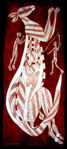 X-ray Kangaroo and Mimi Spirit