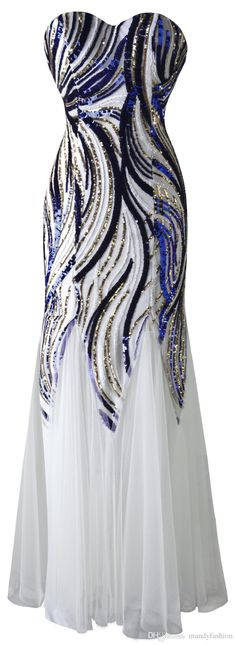 2015 New Arrival Strapless Sweetheart Colorful Sequins Lace Up White Mesh Prom Dress Wedding Dress Mermaid Party Dresses Prom Dresses Montreal Prom Dresses Sale From Mandyfashion, $47.13  Dhgate.Com