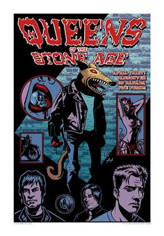 Queens of the Stone Age Concert Poster (Vancouver)