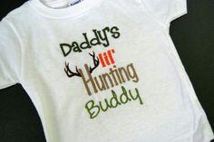 Daddys lil' hunting buddy.