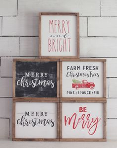 Etsy Christmas Signs! #Etsy #sign #homedecor #christmas #woodsign