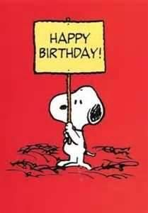 Snoopy and Peanuts - Happy Birthday Greetings Card Happy Birthday Snoopy Images, Peanuts Happy Birthday, Happy Birthday 1, Snoopy Birthday, Happy Birthday Quotes, Happy Birthday Greetings, Birthday Images, Birthday Greeting Cards, Birthday Messages