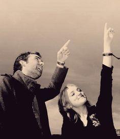 Harry Potter.  Neville Longbottom and Luna Lovegood