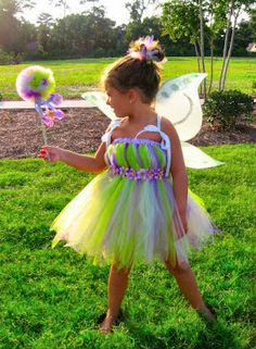 ideas~tutu tinker bell or butterfly costume