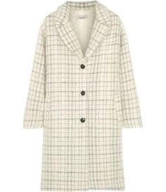 NET-A-PORTER - Maylis checked wool-blend coat