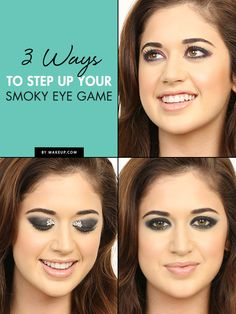 Looking for ways to change up your smoky eye? Here are three ways to do just that! We'll show you how to step up your smoky eye game with three new eye makeup looks.