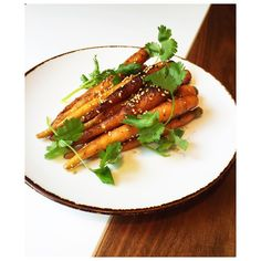 "89 Likes, 5 Comments - Nota Bene Restaurant (@notabenetoronto) on Instagram: ""Jerk carrots with sesame and coriander - available on our NB Bar menu! . #toronto #QueenWest…"""