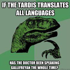 I've wondered the same thing, Philosoraptor.