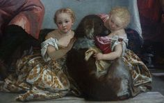 Detail from Les Pelerins d'Emmaus by Paolo Veronese