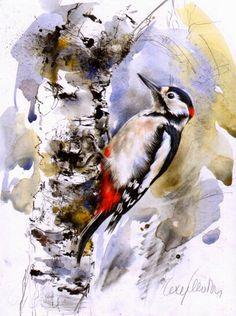 Lucy Newton. Woodpecker